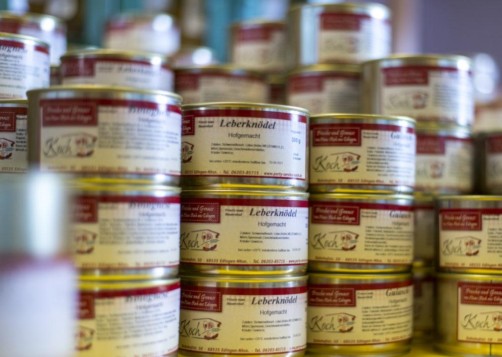 Hofgemachte Wurst und Fleischkonserven von Bauernladen Koch