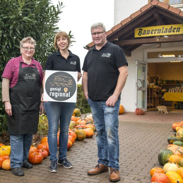 Familie Koch Label genial regional Bauernlädchen