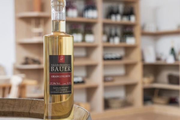Brände Liköre Weingut Bauer Vinothek